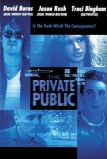 The Private Public 2001 poster