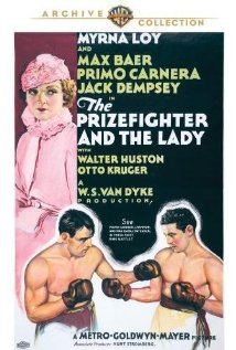 The Prizefighter and the Lady (1933) cover