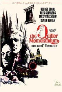 The Quiller Memorandum (1966) cover