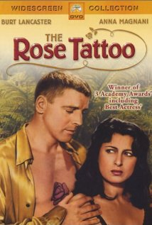 The Rose Tattoo 1955 poster