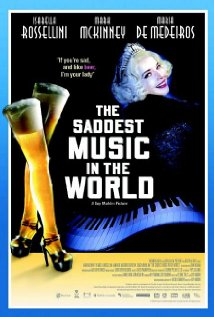 The Saddest Music in the World (2003) cover