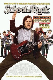 The School of Rock 2003 poster