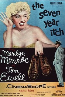 The Seven Year Itch 1955 poster