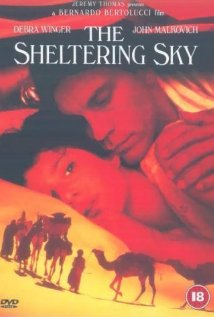 The Sheltering Sky (1990) cover