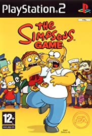 The Simpsons Game (2007) cover