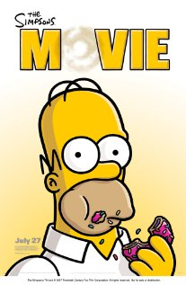 The Simpsons Movie (2007) cover