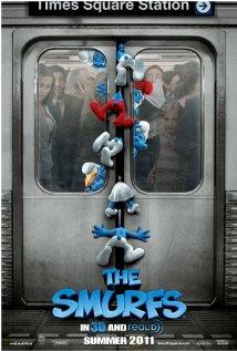 The Smurfs (2011) cover