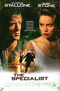 The Specialist 1994 poster