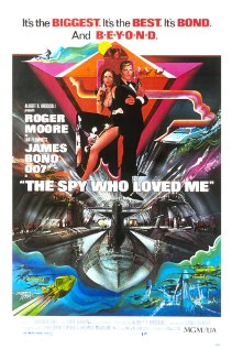 The Spy Who Loved Me (1977) cover