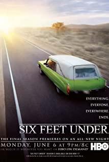 Six Feet Under 2001 poster