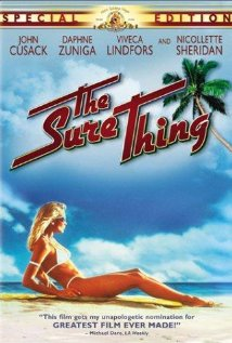The Sure Thing (1985) cover