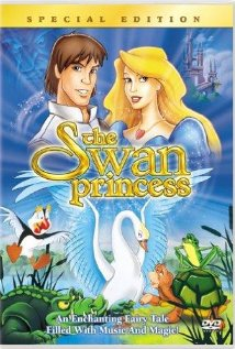 The Swan Princess (1994) cover