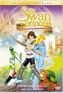 The Swan Princess: The Mystery of the Enchanted Treasure (1998) cover
