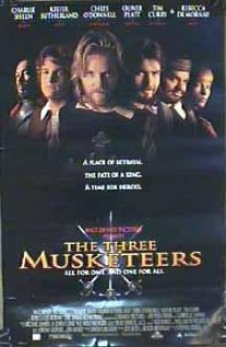The Three Musketeers (1993) cover
