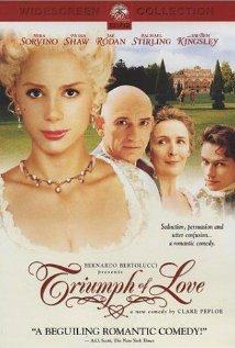 The Triumph of Love (2001) cover