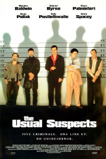 The Usual Suspects 1995 poster