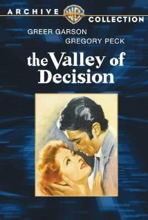 The Valley of Decision (1945) cover