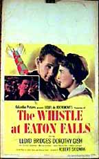 The Whistle at Eaton Falls (1951) cover
