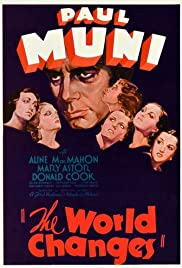 The World Changes 1933 poster