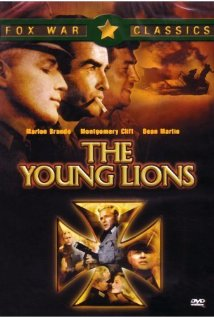 The Young Lions 1958 poster