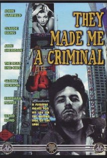 They Made Me a Criminal (1939) cover