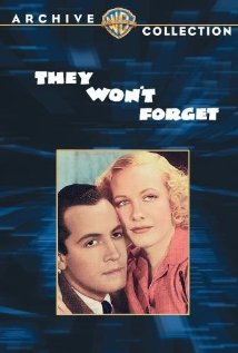 They Won't Forget (1937) cover
