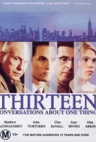 Thirteen Conversations About One Thing 2001 poster