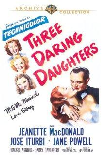 Three Daring Daughters (1948) cover