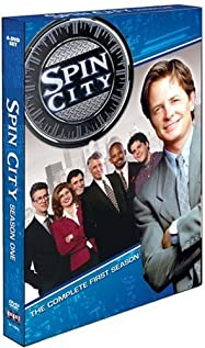 Spin City (1996) cover