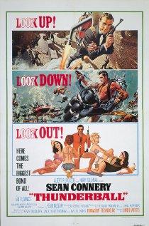 Thunderball 1965 poster