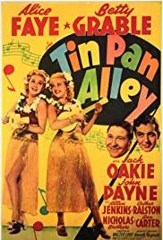 Tin Pan Alley (1940) cover