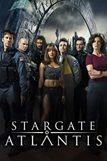 Stargate: Atlantis (2004) cover