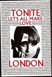 Tonite Let's All Make Love in London 1967 poster