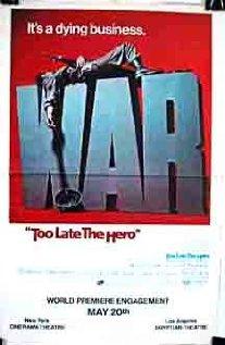Too Late the Hero (1970) cover