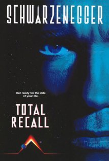 Total Recall (1990) cover