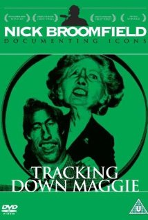 Tracking Down Maggie: The Unofficial Biography of Margaret Thatcher (1994) cover