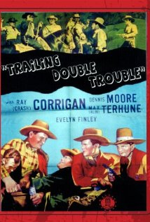Trailing Double Trouble 1940 poster