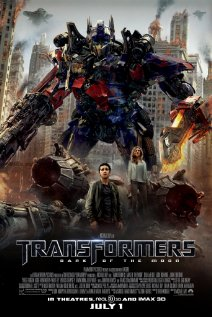 Transformers: Dark of the Moon (2011) cover
