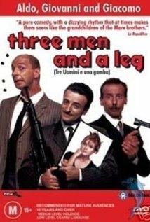 Tre uomini e una gamba (1997) cover