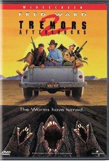 Tremors II: Aftershocks (1996) cover