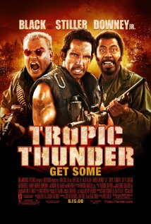 Tropic Thunder (2008) cover