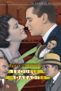 Trouble in Paradise (1932) cover