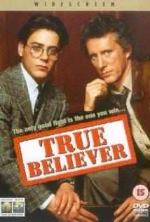 True Believer 1989 poster