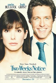 Two Weeks Notice (2002) cover