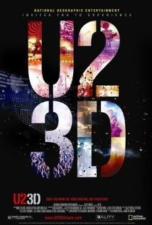 U2 3D 2007 poster