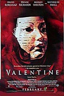 Valentine (2001) cover
