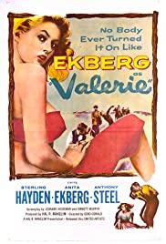 Valerie 1957 poster