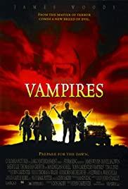Vampires 1998 poster
