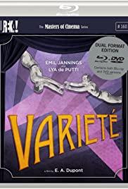 Varieté (1925) cover