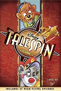 TaleSpin (1990) cover